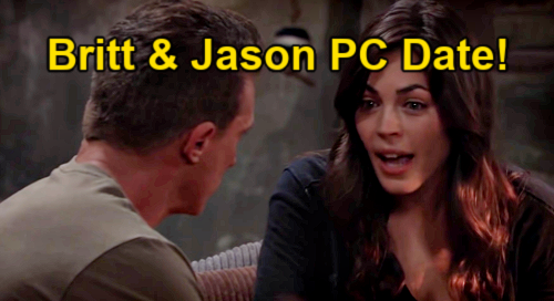 General Hospital Spoilers: Jason & Britt's First Real Date in Port Charles – Carly Objects as Couple Enjoys Romance