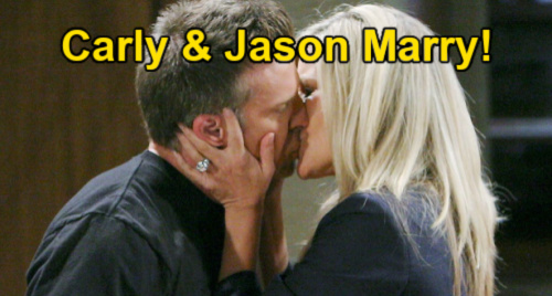 General Hospital Spoilers: Jason & Carly Get Married – Wedding Strategy Protects Sonny's Organization, Present United Front