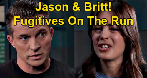 General Hospital Spoilers: Jason Escapes from Prison – Goes on the Run with Britt