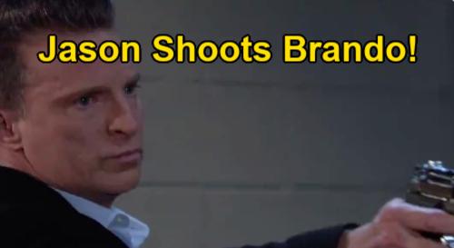 General Hospital Spoilers: Jason Shoots Brando – Gunshot Wound Brings Rush to Hospital