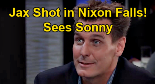 General Hospital Spoilers: Jax Shot in Nixon Falls – Sees Sonny Before Being Rushed to Hospital