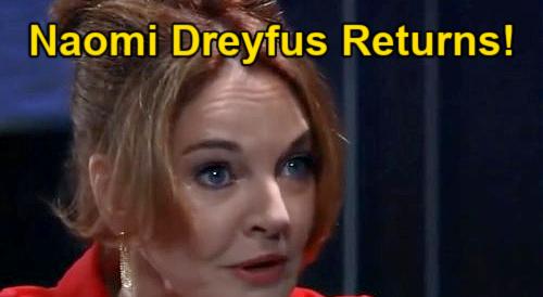 General Hospital Spoilers: Leaked Recast News, Hayden Barnes' Mom Returns – Naomi Dreyfus' Surprise Visit to Violet