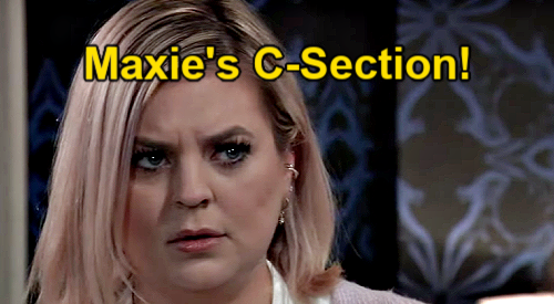 General Hospital Spoilers: Maxie's Emergency C-Section, Baby Lou at Risk of Dying for Real?