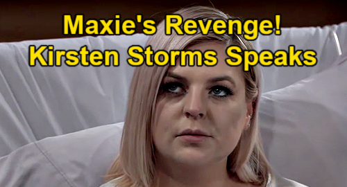General Hospital Spoilers: Maxie's Revenge on Peter – Kirsten Storms Reveals Exciting New Chapter