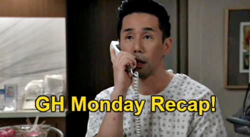 General Hospital Spoilers: Monday, February 22 Recap - Cam Shaves Head - Jason's Valentine - Curtis Goes Businessman