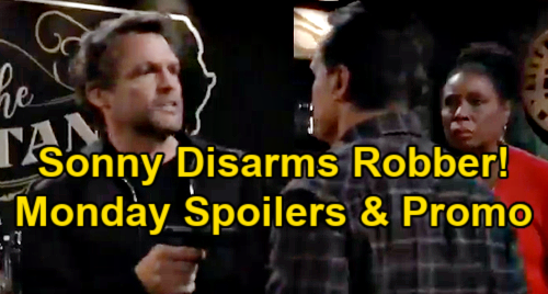General Hospital Spoilers: Monday, January 18 – Sonny Disarms Robber, Saves Lenny and Phyllis – Carly's Devastating Decision