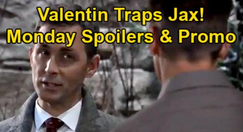 General Hospital Spoilers: Monday, January 25 – Carly's Secret Helper – Valentin's Bold Move Against Jax – Ava Promises Nikolas