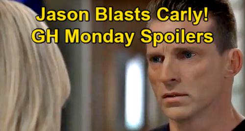 General Hospital Spoilers: Monday, July 12 – Jason Blasts Cruel Carly Over Britt – Austin's Michael GH Wing Curiosity