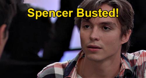 General Hospital Spoilers: Monday, July 19 Sneak Peek – Spencer Busted for Cockroach Slipup – Nikolas Demands Answers
