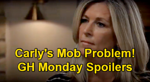 General Hospital Spoilers: Monday, June 14 – Carly's Mob Job Problem – Nina's Horrible Realization – Chase & Willow Wedding Prep