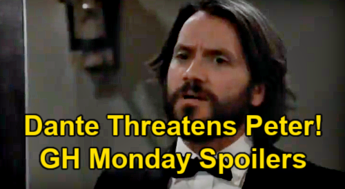 General Hospital Spoilers: Monday, March 1 – Dante Threatens Peter – Franco Blamed for Shocking Crime – Obrecht Warns Maxie