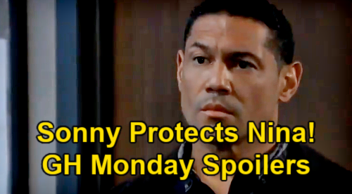 General Hospital Spoilers: Monday, May 17 – Sonny Armed, Ready to Protect Nina – Maxie & Peter Shut Down Immediate Induced Labor