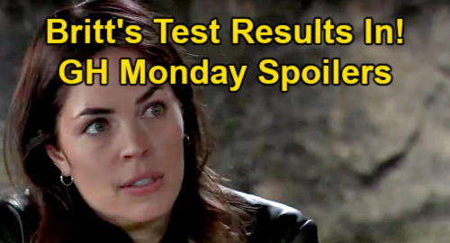 General Hospital Spoilers: Monday, May 24 – Britt's Test Results – Cyrus Sends Peter to Spy on Sasha - Nina Plays with Fire