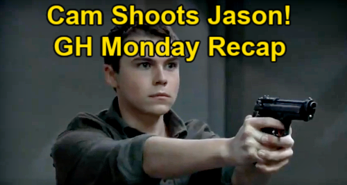General Hospital Spoilers: Monday, May 3 Recap – Cam Shoots Jason – Cyrus Orders Britt Fatal OD – Liz Learns Peter Killed Franco