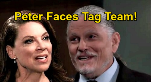 General Hospital Spoilers: Obrecht & Cyrus' Alliance Against Peter – Invader Article Gains Liesl a Partner?