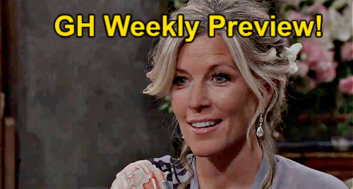 General Hospital Spoilers: Preview Week of September 13 - Peter Traps Nina & Phyllis in Tan-O Fire - Carly's Wedding Day