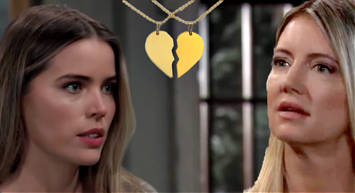 General Hospital Spoilers: Sasha Wears Avery's Lucky Necklace for TV Interview - Nina Spots Missing Daughter Half-Heart Pendant