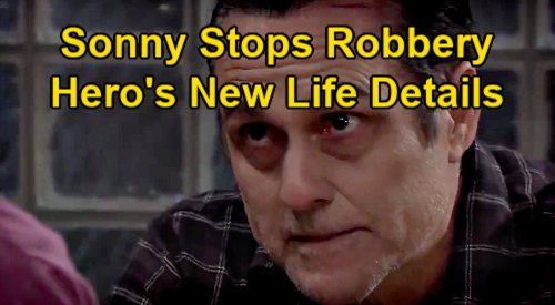 General Hospital Spoilers: Sonny Stops Bar Robbery, Lenny Gives Hero Bartender Job and a Room - Details on New Life as 'Mike'