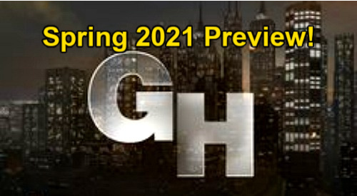 General Hospital Spoilers: Spring 2021 Preview – Liz's New Man - Curtis Divorce - Maxie's Baby Danger – Special Alexis Episode