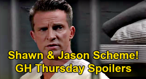 General Hospital Spoilers: Thursday, April 22 – Jax Shot, Takes Bullet Meant for Sonny – Jason & Shawn Brainstorm