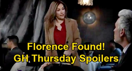 General Hospital Spoilers: Thursday, February 18 – Sonny's Identity News – Jackie Finds Florence – Nina Reports Carly & Jax