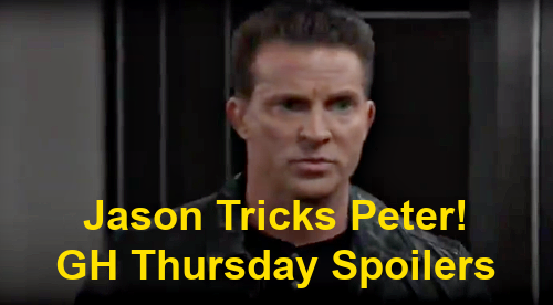 General Hospital Spoilers: Thursday, January 28 – Sonny Found, Faces New Demands – Nina Necklace Inquiry - Jason Tricks Peter