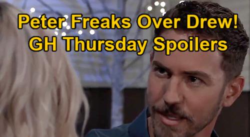 General Hospital Spoilers: Thursday, January 7 – Franco's Drew Memories Terrify Peter – Jordan Tells Cyrus Find Mommy Himself