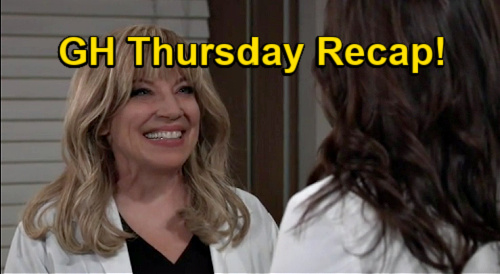 General Hospital Spoilers: Thursday, January 7 Recap - Jordan Fights Back - Liesl Revealed To Britt - Franco Unnerves Peter