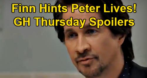 General Hospital Spoilers: Thursday, July 22 – Finn Hints Peter Not Dead – Dante's Confidential News – Brook Lynn's Guilt