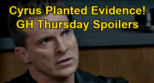 General Hospital Spoilers: Thursday, March 18 – Jason Serious Trouble, Cyrus Planted Evidence – Obrecht Triggers Deadly Dante