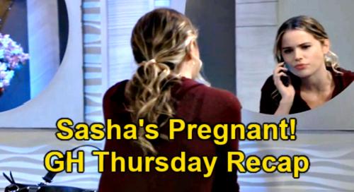 General Hospital Spoilers: Thursday, May 13 Recap – Sasha Pregnant – Britt Rejects Puerto Rico Plan – Sonny Botches Break-In