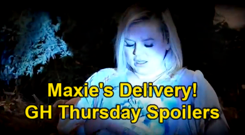 General Hospital Spoilers: Thursday, May 27 – Maxie's Baby Delivery - Valentin Threatens to Kill Peter - Cyrus' Hostage Trade