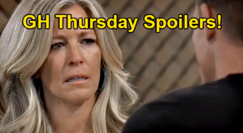 General Hospital Spoilers: Thursday, September 9 – Jason & Carly Trade Love Confessions – Curtis to the Rescue – Nina's Final Wish