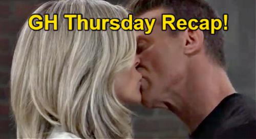 General Hospital Spoilers: Thursday, September 9 Recap – Jason & Carly Kiss Passionately – Maxie's Plus One Offer