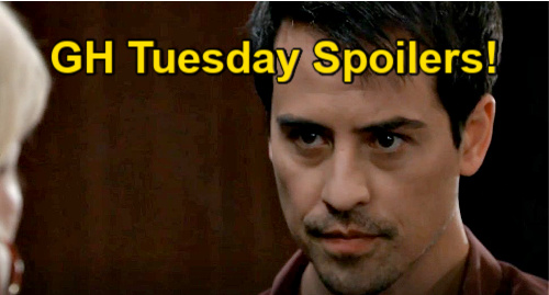 General Hospital Spoilers: Tuesday, April 20 Recap – Carly Surrenders Florence, Nikolas Wins – Anna Ready to Kill Peter