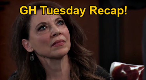 General Hospital Spoilers: Tuesday, February 2 Recap - Liesl Vows To Stop Maxie's Wedding - Cyrus Offers Taggert's Freedom