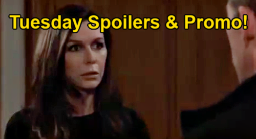 General Hospital Spoilers: Tuesday, February 23 – Carly's Fed Interrogation – Obrecht Hunts Proof - Valentin Rats Out Peter
