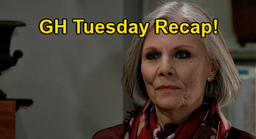 General Hospital Spoilers: Tuesday, January 19 Recap - Olivia Puts The Pieces Together - Valentin Helps Alexis Blame Tracy