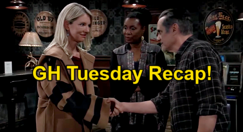 General Hospital Spoilers: Tuesday, March 23 Recap – Sonny's Memory Loss  Stuns Nina – Cameron's Farewell Gift to Franco
