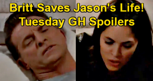 General Hospital Spoilers: Tuesday, May 4 – Britt Saves Jason from Bleeding to Death – Cameron at PCPD – Cyrus' Deadly Plans
