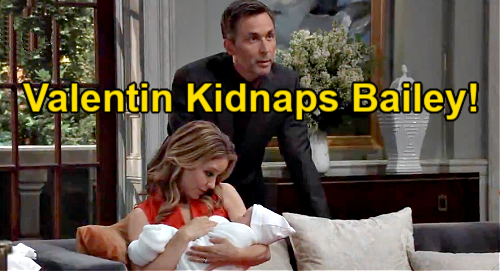 General Hospital Spoilers: Valentin Kidnaps 'Bailey' After Brook Lynn's Lies Exposed – Papa Refuses to Give Up Maxie's Baby?