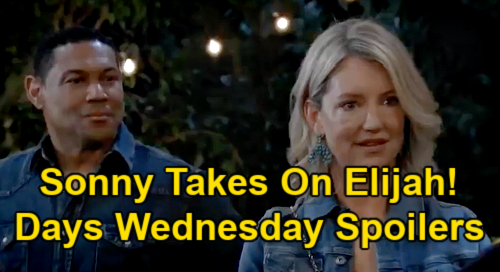 General Hospital Spoilers: Wednesday, April 21 – Carly's Risky Jason Escape Plan - Sonny Takes On Elijah - Peter Antidote Antics