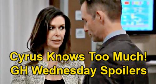 General Hospital Spoilers: Wednesday, April 7 Recap – Brook Lynn Uses Maxie's Sonogram – Cyrus Onto Valentin & Anna