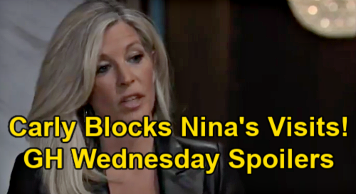 General Hospital Spoilers: Wednesday, February 24 – Carly Threatens to Block Nina's Wiley Visits – Peter Shocks Anna