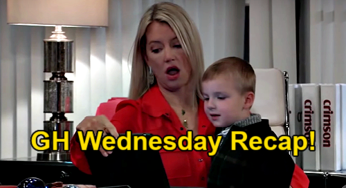 General Hospital Spoilers: Wednesday, February 24 Recap - Obrecht Knows Alex Is Peter's Mom - Alexis Apologizes To Olivia