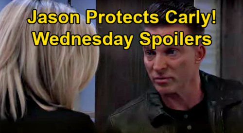 General Hospital Spoilers: Wednesday, January 27 – Jason Protects Carly - Peter's Mission for Dante – Franco Scandal Spreads