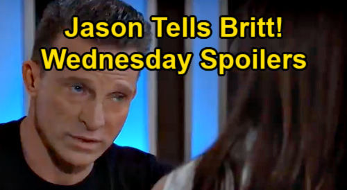 General Hospital Spoilers: Wednesday, July 7 – Jason Steals Time with Britt – Carly Slams Jax's Exploit – Sonny is Tempted