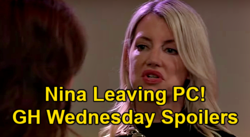 General Hospital Spoilers: Wednesday, March 17 – Nina Leaving Port Charles – Cyrus' Offer to Peter - Franco's Memorial
