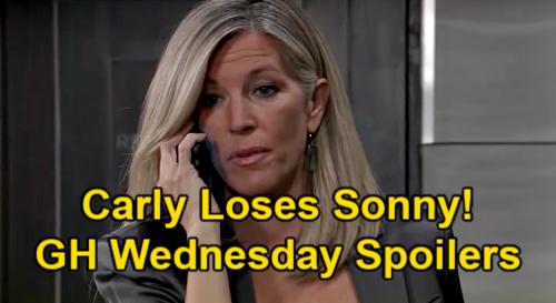 General Hospital Spoilers: Wednesday, March 24 – Carly Threatens Nina, Loses Sonny Reveal – Charlotte Baby Shocker