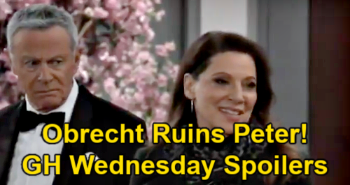 General Hospital Spoilers: Wednesday, March 3 – Obrecht Drops Alex Mom Bomb, Peter & Maxie Lose It - Anna Confirms Truth